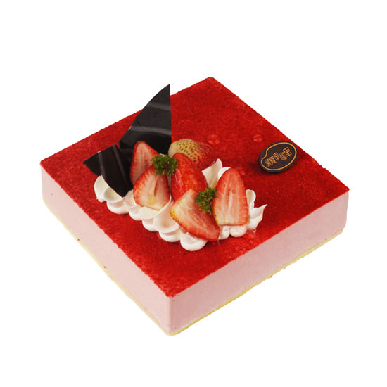 Raspberry Strawberry Mousse 覆盆子草莓慕斯