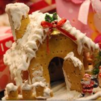 圣诞蛋糕——圣诞姜饼屋