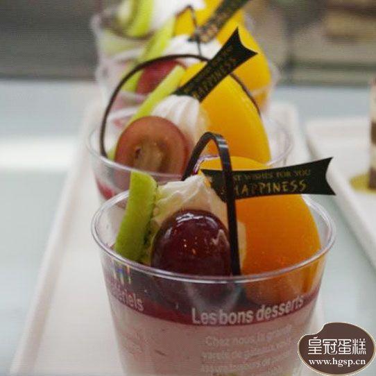 覆盆子水果杯配图